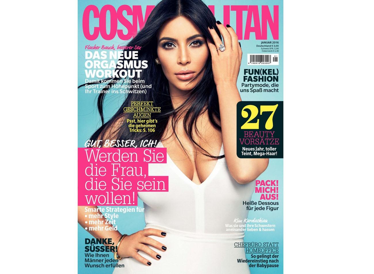 COSMOPOLITAN 10.12.2015 S.118 Cover