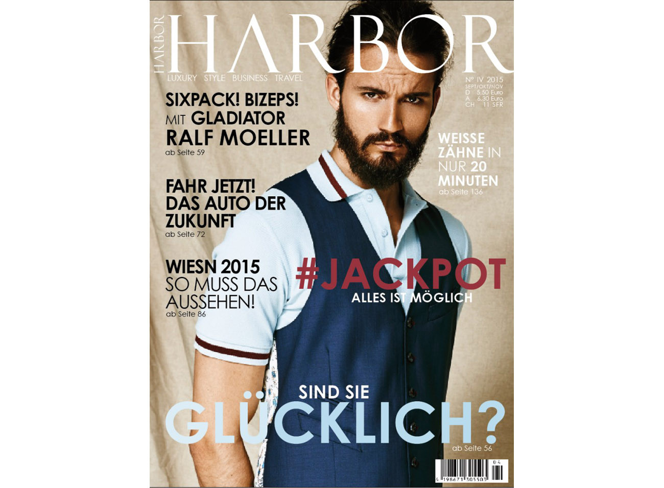 Cover Harbor Magazin Ausgabe 04 2015