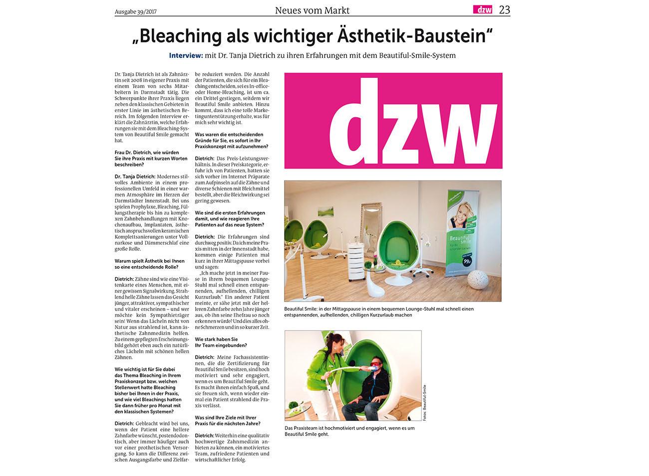 DZW Ausgabe 39, 2017, Seite 23