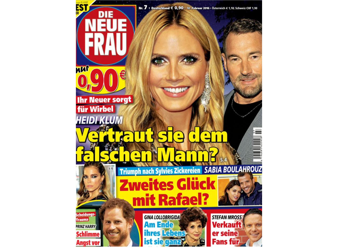 Die Neue Frau 10.02.2016 Cover