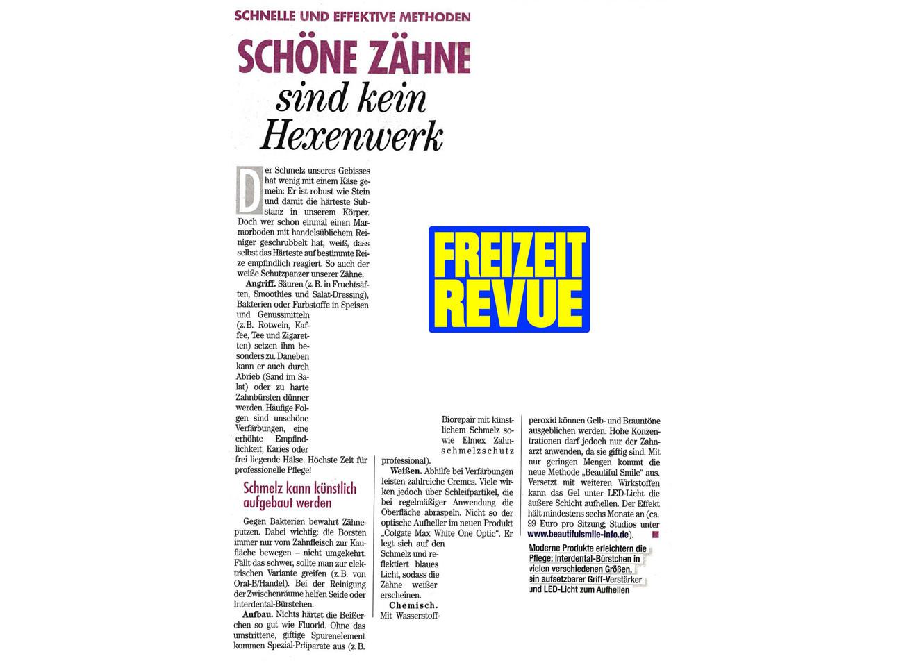 Freizeit Revue 11.11.21015