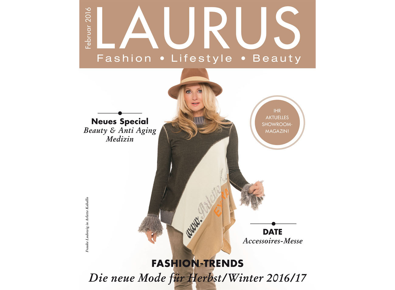 Laurus Magazin Cover 29.01.2016